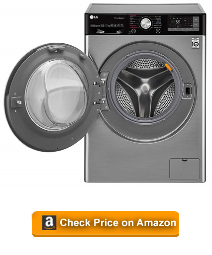 LG 10.5 kg Inverter Wi-Fi Fully-Automatic Front Loading Washer Dryer