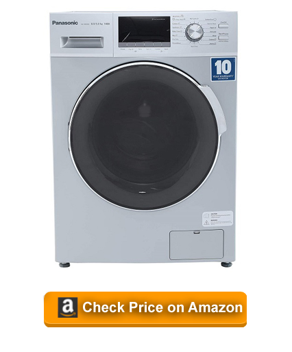 Panasonic 8 kg Fully-Automatic Front Loading Washer Dryer Machine (NA-S085M2L01)