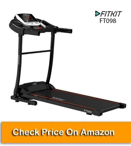 Fitkit FT098 Series Motorized Treadmill for Home Use
