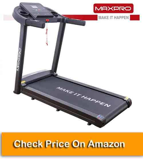 Welcare MAXPRO PTM 101 (3 HP Peak) Treadmill for Home Use