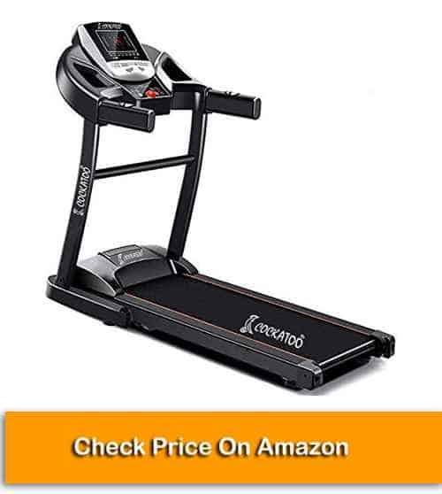 DC Motorized Treadmill for Home