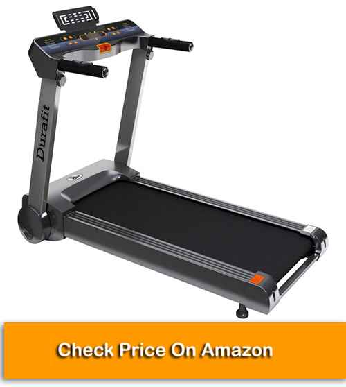 Durafit Spark Best Treadmill Online in India with DC Motor