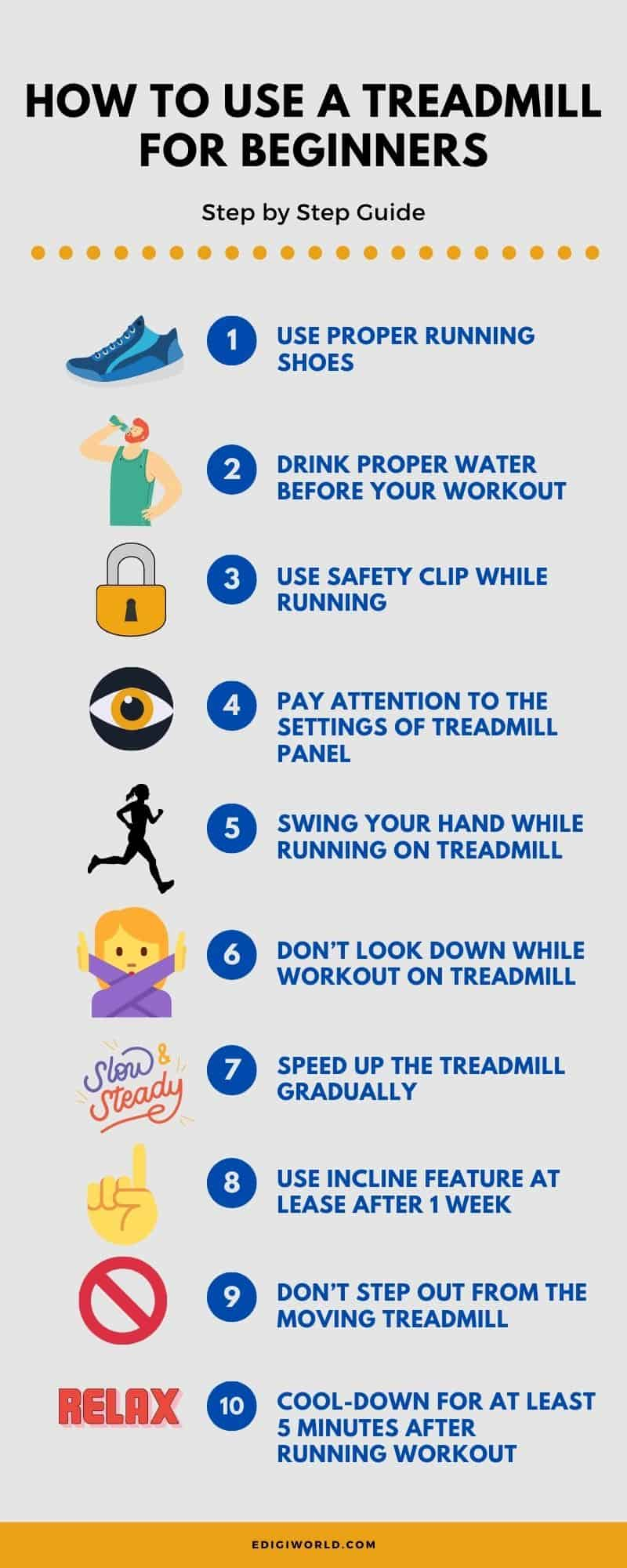 How to Use a Treadmill for beginners – Step by Step-2